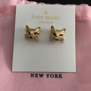 Kate spade so foxy earrings